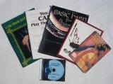Notenhefte Lehrbücher Bücher CDs