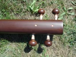 Tanpura indische Langhalslaute mit Instrumentenkoffer