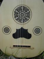 Türkische Laute Oud 11 Saiten + Tasche + Lehrbuch