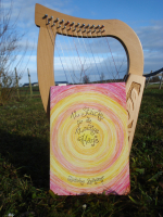 Notenheft für 12 Saitige Harfen Tonumfang F4 - C6 (f'-c''') - ISBN 9783982118765