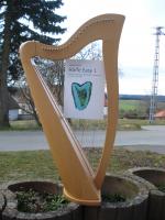 """Einsteiger Lehrbuch """"Harfe Easy 1"""" von Angelika Kutscher"""