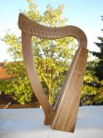 Pentatonische Harfe 12 Saiten Bronze + Zubehör